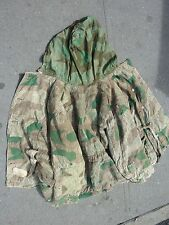 WORLD WAR II MILITARY FIELD DOUBLE SIDED DISTRESS JACKET SPLINTER PATTERN L-SIZE