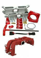 IBR Bolt-On BRZ Manifold Kit (Red) w/ Intake Manifold for Subaru 2015+ WRX