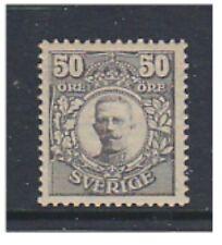 More details for sweden - 1912, 50 ore grey - m/m - sg 81