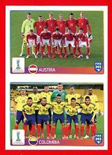 FIFA 365 2015-16 PANINI 2016 -Figurina Stiker- n. 35/36 - AUSTRIA-COLOMBIA -New