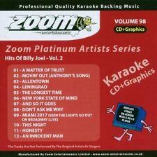 Zoom Karaoke Platinum Artists Series Volume 98 Hits Of Billy Joel Vol.2 CD+G New