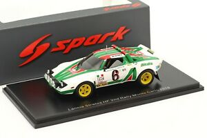 LANCIA STRATOS HF #6 B.Waldegard 2nd Rallye Monte Carlo 1976 - 1:43 - SPARK