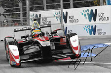 Bruno Senna SIGNED  Formula E  Team Mahindra , London E-Prix  June 2015