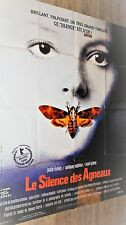 LE SILENCE DES AGNEAUX the silence of the lambs   ! affiche cinema