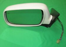 2001 Subaru Legacy Outback White Mirror Driver Left Side Heated LH Hand OEM