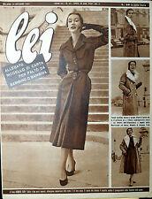 * lei N° 42/ 14/OTT/1952 * Rivista di moda *