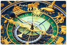 Prague Praha Astronomical clock Souvenir Photo Fridge Magnet vinyl gift