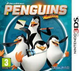 Penguins Madagascar - Nintendo 3DS Game. Complete with manual. Fast Dispatch !!