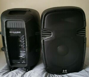 Ekho RS10A Active Speakers With Stands (Pair)