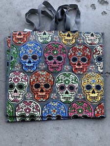 TJM Skull Reusable Bag Great For Halloween New With Tags