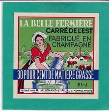 EF100 FROMAGE CARRE DE L EST R. LALLEMAND SAINTE MEMMIE MARNE
