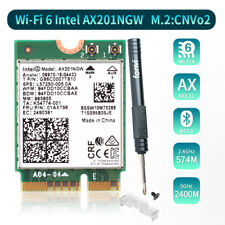 PC Wi-Fi 6 Intel AX201  wifi card 2400Mbps M.2 NGFF Wireless card Bluetooth 5.0