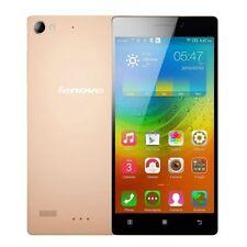 Teléfonos móviles libres Android Lenovo color principal oro