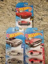 Hot Wheels JDM Lot of 5 Cars+Nissan+Mazda+Honda