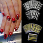 24 Sheets 3D Lace Design Nail Art Manicure Tips Stickers Decals DIY Decoration