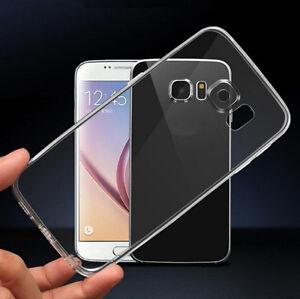 Clear Soft TPU Anti Scratch Case Cover For Samsung Galaxy Series A8 S9 Plus S10