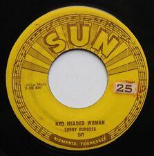 Sonny Burgess Original Sun Rockabilly 45rpm 1956
