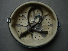 German WWII helmet liner chinstrap split pins - set
