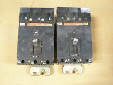 Square D Fhb Fhb36100 3 pole 100 amp 600v Circuit Breaker Black Face