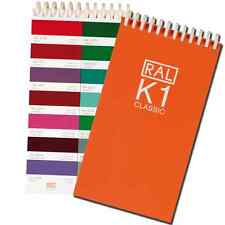 RAL CLASSIC K1 colour guide - Shows all the Classic colours. Pack of 2 guides.