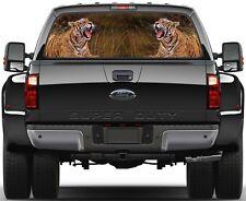 Tigers Rear Window Graphic Decal Truck SUV Van Car