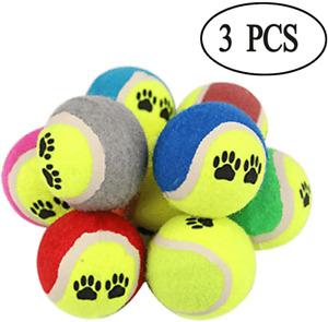 TENNIS BALLS SPORT PLAY CRICKET DOG TOY BALL OUTDOOR FUN BEACH LEISURE / CHUCKER