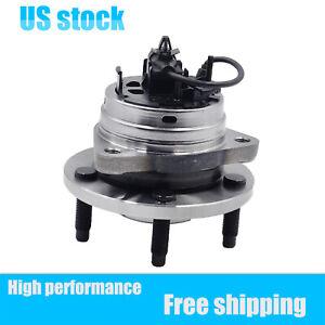 Wheel Hub Bearing Assembly 5 Lug Stud W/ABS For 04-12 Chevy Malibu Cobalt HHR G6