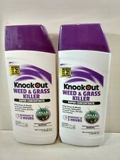 2 PACK Knock Out Weed & Grass Killer Super Concentrate 32oz 21Gallon