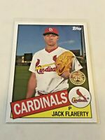2020 Topps Baseball Series 2 '85 Topps - Jack Flaherty - St. Louis Cardinals