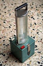 vecchia lampada anni 60 da campeggio o emergenza modernariato