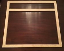 """Unfinished Natural Birch Cabinet Face Frame (33"""" X 30"""" X 3/4"""")For Drawer & Doors"""