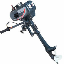 Power Outboard Engine 2 Stroke Boat Engine Motor 3.5HP Petrol Fishing CDI System