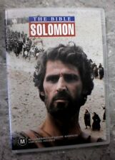 The Bible: SOLOMON ( DVD, Region 4) G19