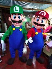 Professional Mario Or Luigi Mascot Costume