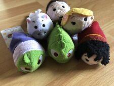 Disney 3 1/2� Mini Plush Tsum Tsum Tangled Set Of 6