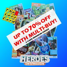 SAINSBURYS HEROES ON A MISSION CHOOSE YOUR CARDS * UP TO 70% OFF * 2021 DISNEY