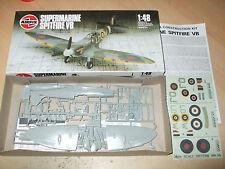 Vintage Airfix-SUPERMARINE SPITFIRE VB - 1/48-mint / nouveau-rapide POSTAGE