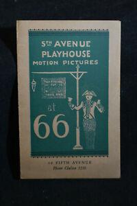5th Avenue Playhouse NYC *Die Nibelungen: SIEGFRIED*Paul Richter*Fritz Lang*