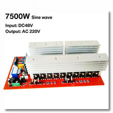7500W DC 48V to AC 220V Pure Sine Inverter Board Solar Power Frequency Inverter