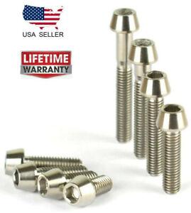 4x M6 x 20 Titanium Ti Screw Bolt hex Socket Cap head Aerospace Grade 1  BS