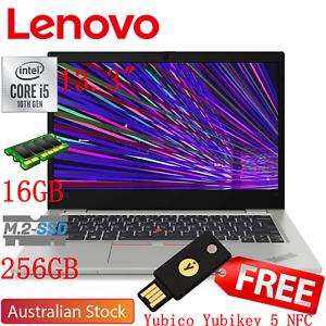 Lenovo Thinkpad L13 13.3'' Intel i5 10210U 256GB SSD 16GB RAM Win10P Notebook
