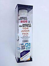 WEST SYSTEM W104 Epoxidharz Junior Pack 105-205 J Bootsharz - schneller Härter