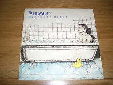"""Yazoo-nobody's diary.7"""""""