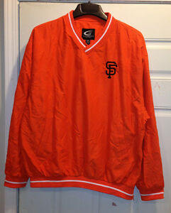 San Francisco GIANTS Pullover Orange color by GIII
