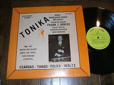 Frank J. Borisz - Tonika Hungarian Dance Melodies 1969 LP Polka Cleveland VG+/EX