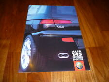 Alfa Romeo 145 EDIZIONE SPORTIVA Prospekt 05/2000