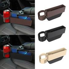 1X Car Seat Gap Catcher Crevice Pocket Storage Box Organizer Baffle Cup Holder