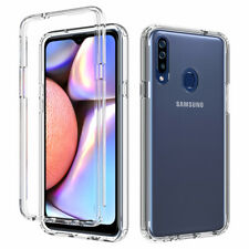 For Samsung Galaxy A20S A21 Shockproof Clear Silicone Bumper Phone Case Cover