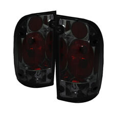 Toyota 01-04 Tacoma Smoke Euro Style Rear Tail Lights Lamp Set DLX S/Pre-Runner