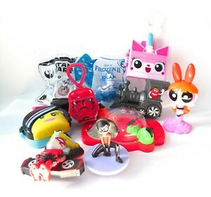 McDonald's Happy Meal Toy Lot Lego Movie Star Wars Incredibles Frozen BB8